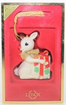 Lenox A Gift For Rudolph Porcelain Christmas Ornament 2nd Series - $39.60