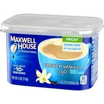 Maxwell house International French Vanilla Cafe Decaf Sugar Free 4 oz - $10.88