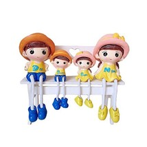George Jimmy Creative Home Decorations Cute Cartoon Lovers Desktop Decorations C - $35.95