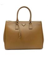 PRADA Saffiano Lux Galleria Brown Leather Ladies Tote 1BA786NZV - £1,369.88 GBP