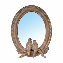 """Mirror w/ Birds Sculpture 7.5x9.5"""" - 73180 - $28.70"""