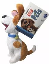 "Secret Life of Pets Max Dog Plush Spinmaster Universal Studios Toy 7"" - $19.80"