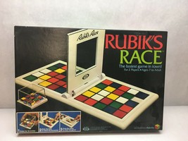 VINTAGE Rubik's Race BOARD GAME 1982 ORIGINAL Box ALL Pieces INCLUDED - $29.69