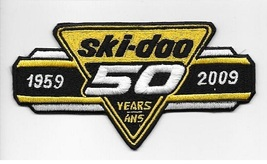 Snowmobile Ski-Doo Bombardier 50 Years 50 ans Valcourt, Quebec lg 4 x 6in - $10.99