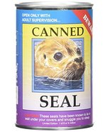 """Canned Critters Stuffed Animal: Seal 6"""" - $15.62"""