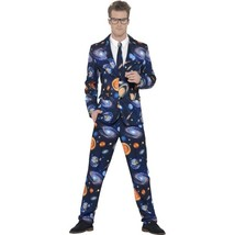 "Space Suit With Trousers Jacket & Tie L - Size 42""-44"" - $67.59"