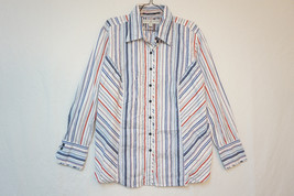 Tommy Hilfiger Midweight Cotton Button-Front Shirt/Top/Blouse, Size 18  06310 - $12.21