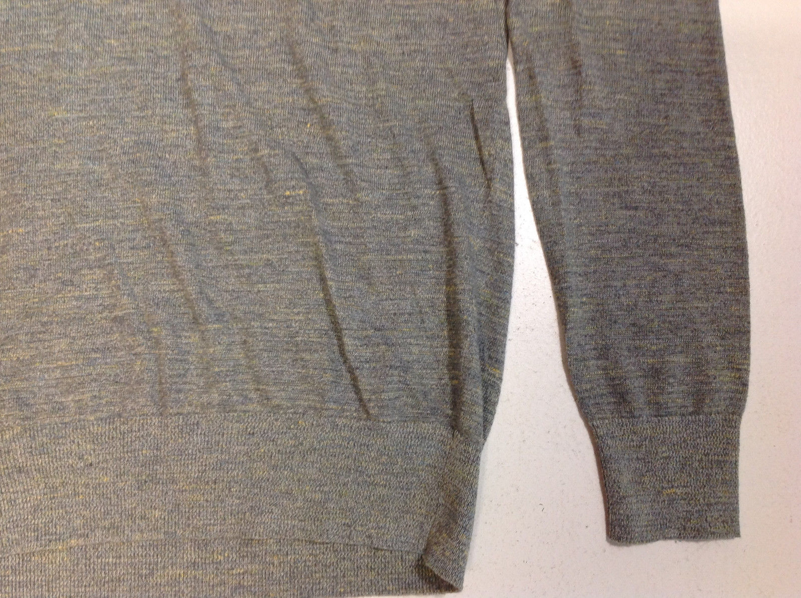 The Men's Store at Bloomingdale's Cotton Linen Space Dyed Sweater, Size L, $98