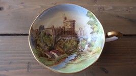 Rare Aynsley WINDSOR CASTLE Teacup Great Condition - $494.99