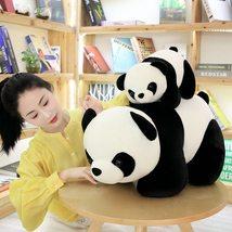 1PC Lovely Baby Big Giant Panda Bear Plush Stuffed Animal Doll Panda Animals Toy image 4