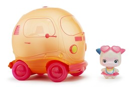 NEW Little Tikes Squeezoos Motorized Bubble Bus and Squeeze Doll Miss Mo... - $15.61