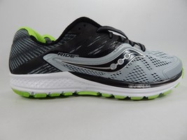 Saucony Ride 10 Running Shoes Men's Size US 9 M (D) EU 42.5 Silver S20373-1