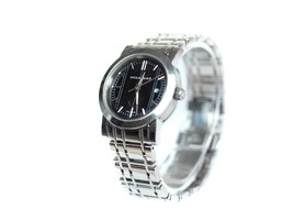 Authentic BURBERRY Date Black Dial Stainless Steel Women's Quartz Watch ... - $159.00