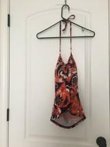 Victoria's Secret Women's SwimWear Halter Tankini Top Sz L MultiColor - $54.45