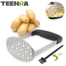 TEENRA 1Pcs Potato Masher Ricer Vegetable Stainless Steel - $22.95