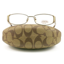 COACH 5019 9002 Eyeglasses Sand 52 16 135 Demo Lens without case finish ... - $60.80