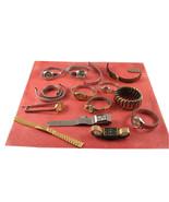 Vintage Ladies Watches & Parts LeClaire, Timex, Helbros, HIlton & more - $14.84