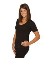 OCTAVE® Thermounterwäsche für Damen: kurzärmeliges T-Shirt/Unterhemd/Top - $21.99
