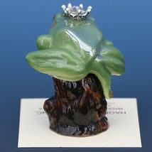 Birthstone Tree Frog Prince April Diamond Miniatures by Hagen-Renaker image 3