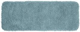 22 X 60 In. Bath Rug Bathroom Accent Mat Blue Washable Nylon Nonslip Run... - $36.04