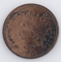 1872 INDIAN HEAD CENT VF COIN VERY RARE DATE!!! - $361.35