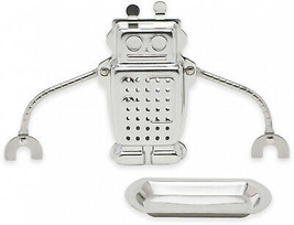 Hangin Dunkin Robot Tea Infuser With Drip Tray - $22.72