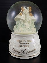 Vintage SNOW GLOBE San Francisco Music Box Company 50th ANNIVERSARY Musi... - $24.74