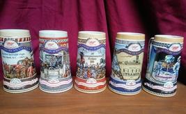 Miller beer Stein's all 5 in series  - $15.00
