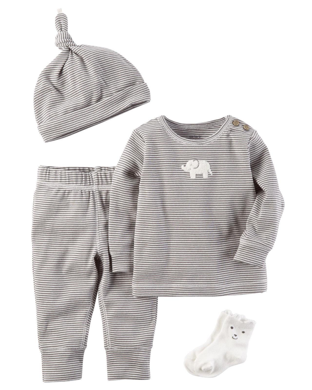 12-24 Months Gray Blue Newborn Hat 6-12 Set of 2 Gymboree Baby Boy Infant 0-6