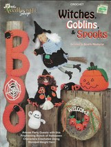 Crochet Pattern Booklet-WITCHES GOBLINS & SPOOKS-Bunch Of Halloween Char... - $9.46