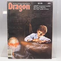 Vintage TSR The Dragon Magazine #85 D&D AD&D March 1984 - $10.16
