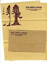 Big Trees Lodge Stationery Yosemite National Park California - $23.73