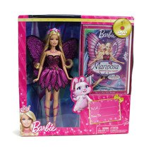 Mariposa BARBIE Doll & DVD Gift Set | MATTEL | NEW Sealed NRFB | HARD TO... - $74.20