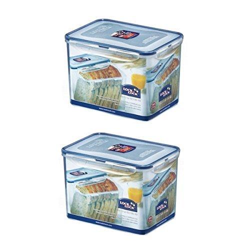 2 X Lock & Lock Rectangular Food Container 3.9L(131.9oz) - $64.34