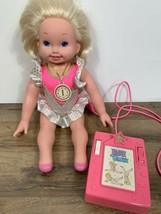 Vintage 1993 Mattel Jenny Gymnast Doll with Controller - $19.79