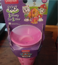 2 Playtex Paw Patrol Sippy Cups for Kids - $7.99