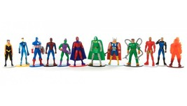 Marvel Heroes Extended View Complete Set 12 3D Figures Figurines - $22.00
