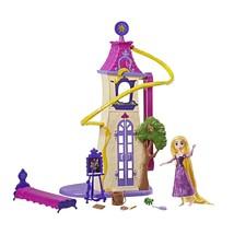 Disney Tangled the Series Swinging Locks Castle Playset Rapunzel Doll To... - $26.01