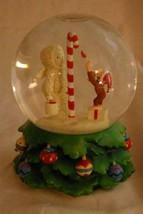 Dept 56 Snowbabies 2002 Peppermint Painters Musical Snow Globe Curious G... - $62.99