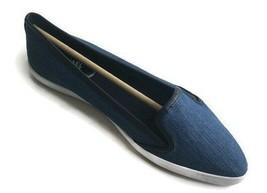 Michael Kors Womens Olive Denim Sneaker Blue 43S6OIFP1D Authentic Size 9 - $46.71