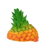 Party Silicone Simulation Pineapple Cap Head Cover Role Playing Hat Perf... - $22.41