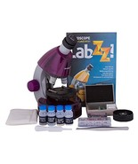 Levenhuk LabZZ M101 Amethyst Microscope for Kids with Experiment Kit – C... - $35.48