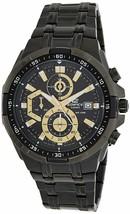Casio Edifice Stopwatch Men's Chronograph EFR-539BK-1AVUDF (EX187) - $251.35