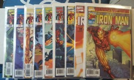 iron man (vol. 3) heroes return #1, 1 variant cover, 2, 3, 6, 7, 9, 12, 14, - $21.50