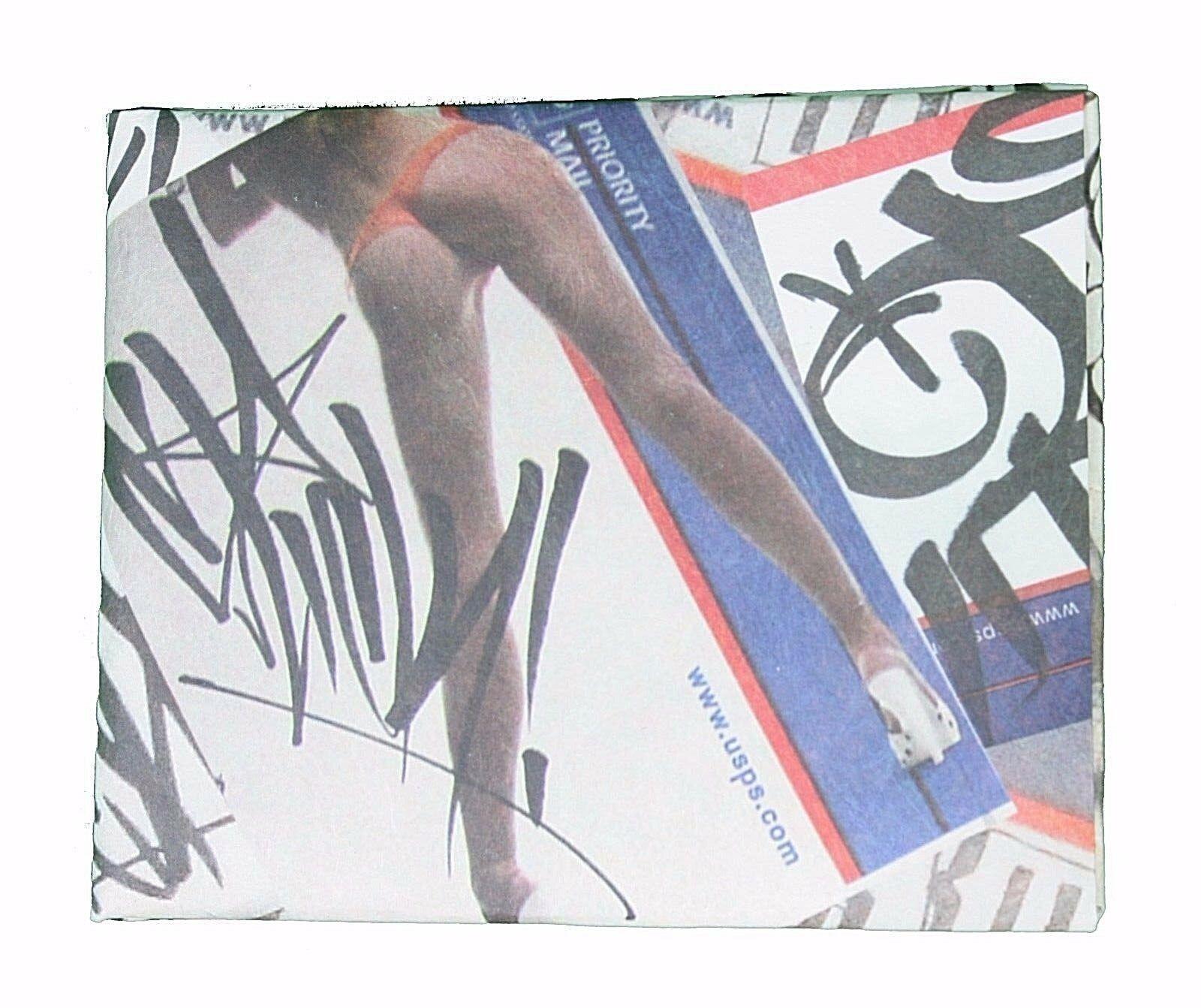 Dissizit La Postal Sexy Beine & Arsch Wasserfest Geldbörse Geld Tyvek Etui Neu