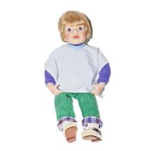 Danbury Mint Porcelain Boy Doll 1992 Elke Hutchens Handmade Dolls Collections - $19.80