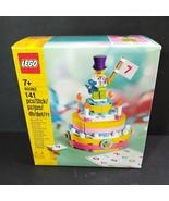 LEGO (40382) Birthday Cake Set 141 pcs - New Free Shipping - $22.76