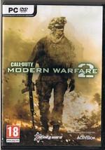 PC DVD Call Of Duty Modern Warfare 2  Game 2 Discs - $9.49