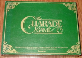 CHARADE GAME THE 1985 PRESSMAN COMPLETE - $15.00