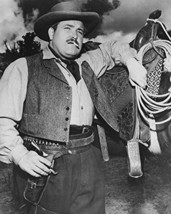 William Conrad B&W 16X20 Canvas Giclee 1950'S Western - $69.99
